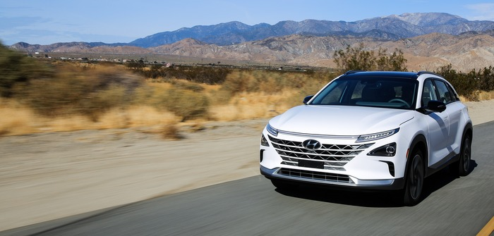 Hyundai unveils its new fuel cell SUV