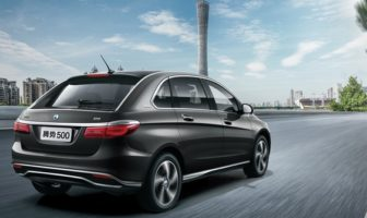 Daimler and BYD launch Denza 500 BEV for China