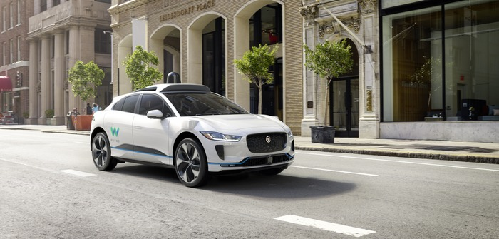 Waymo and Jaguar announce long-term partnership, launching with self-driving I-Pace