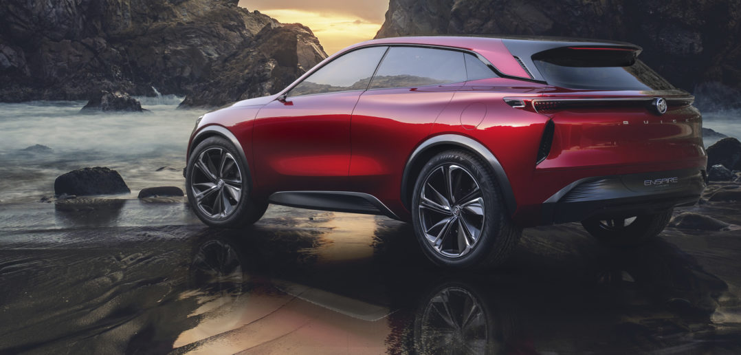 Buick reveals all-electric concept SUV