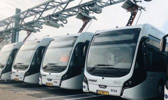 Heliox has supplied 109 fast chargers to power a fleet of 100 electric vehicles for one of the largest electric bus schemes in the world