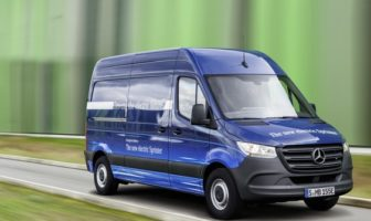 Mercedes-Benz electrifies van line-up with eSprinter