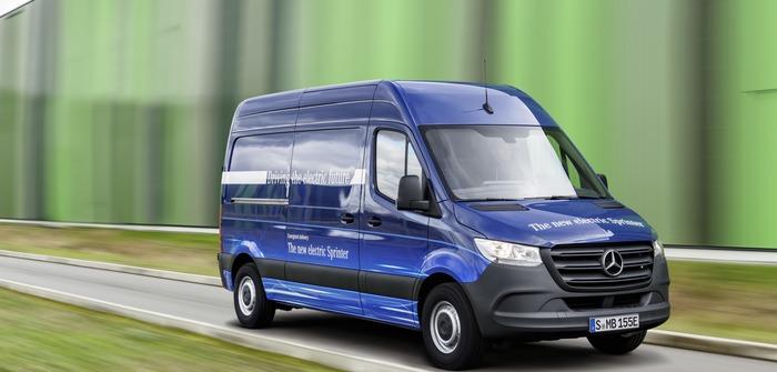 Mercedes-Benz electrifies van line-up with eSprinter