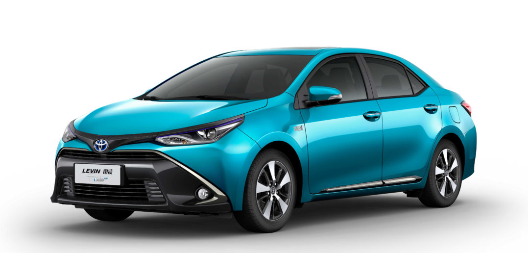 Toyota announces new electrified vehicles for China