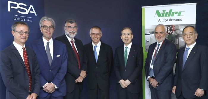 PSA and Nidec create joint venture for e-motor development