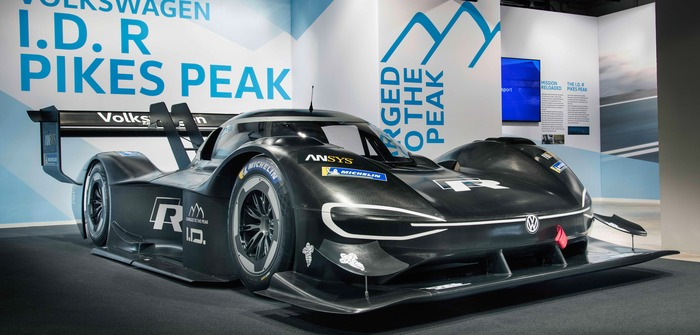 Volkswagen's ID R Pikes Peak to target electric car record