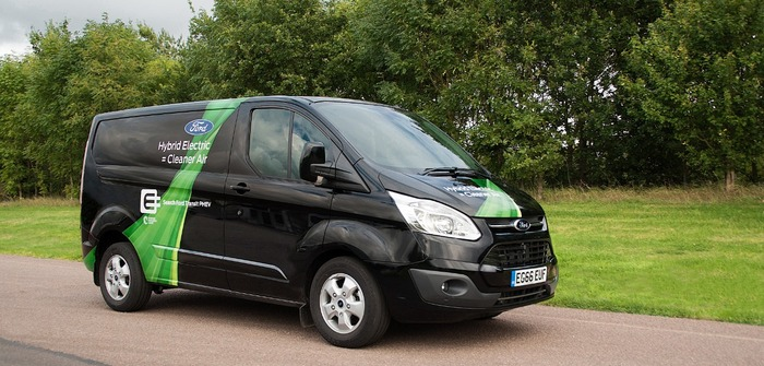 Ford to expand hybrid van trial to Valencia