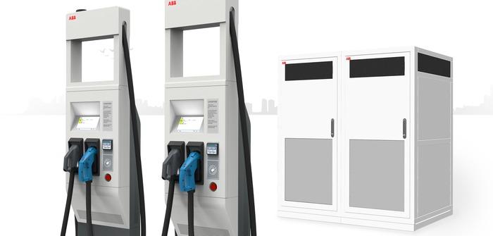 ABB reveals 350kW high-power car charging technology