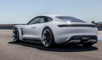 Series production of all-electric Porsche Taycan to begin in 2019