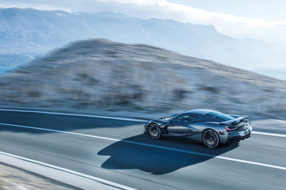 Porsche takes a stake in electric vehicle company Rimac