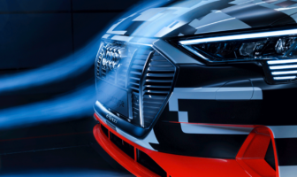 Aerodynamic design plays key role in Audi e-tron's range figures