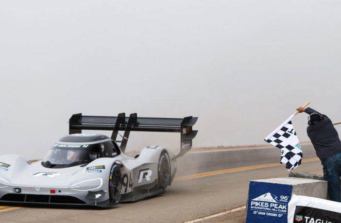Volkswagen sets new overall record on Pikes Peak Hill Climb