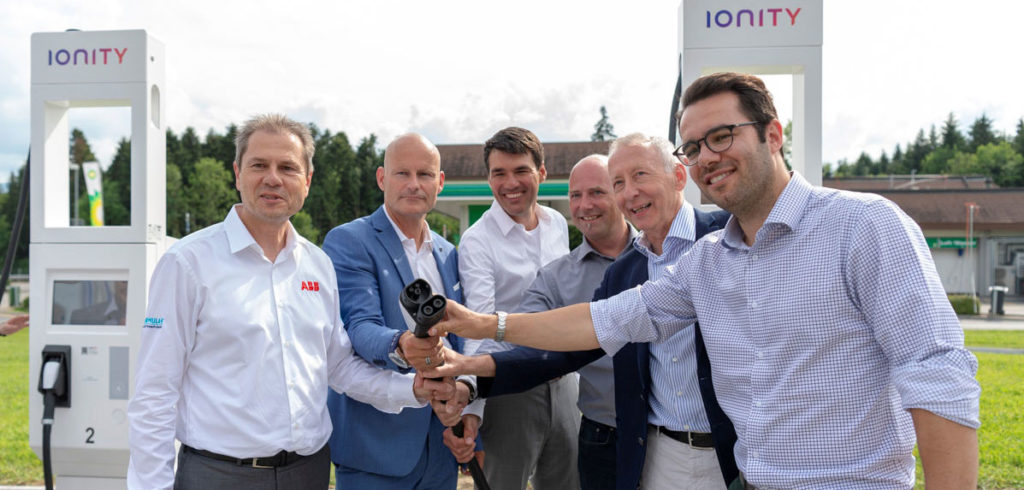ABB selected as Ionity technology partner and supplier