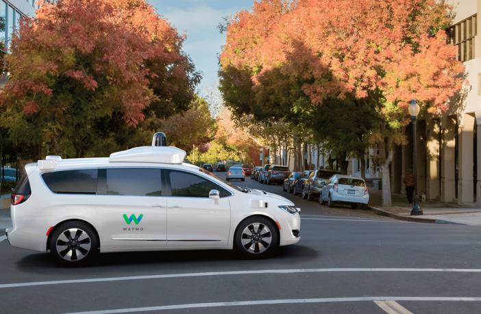 Waymo to add FCA hybrids to self-driving fleet
