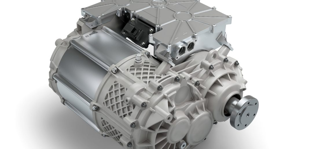 Bosch launches new electric vehicle powertrain for light commercial vehicles