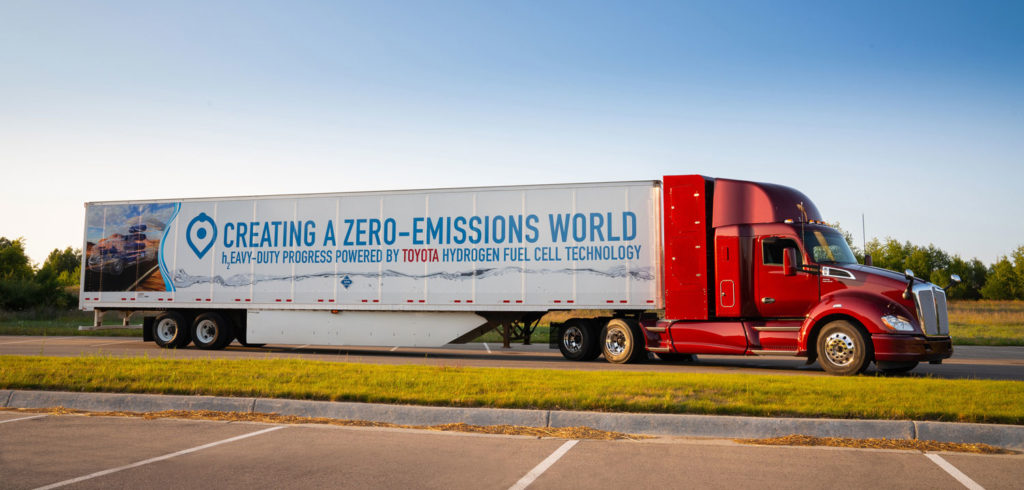 Toyota reveals second iteration of Project Portal hydrogen truck