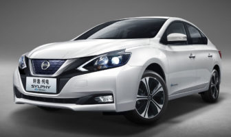 Nissan Sylphy electric vehicle begins production in China
