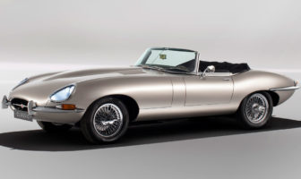 All electric Jaguar E-type to enter production