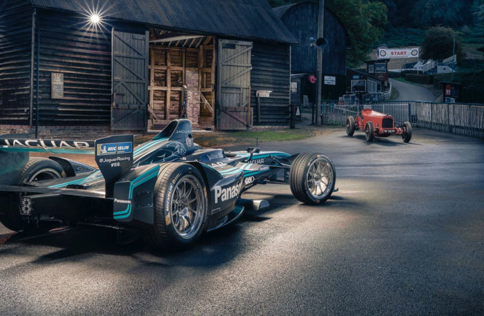 Jaguar and GKN Driveline set UK course record with Formula E car