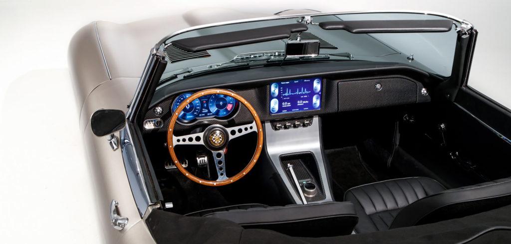 All electric Jaguar E-type to enter production