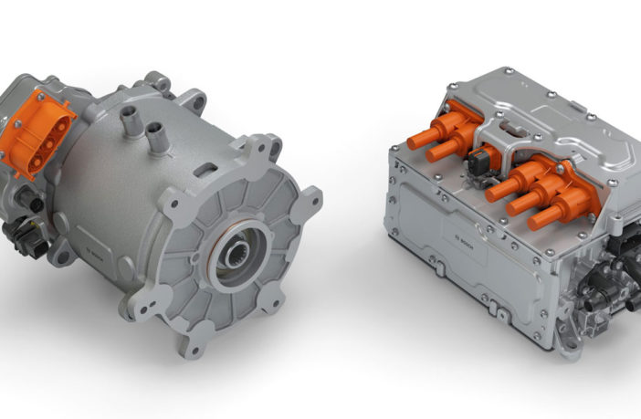 Bosch develops electrified axle for semitrailers