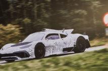 Mercedes-AMG Project One undergoes prototype testing