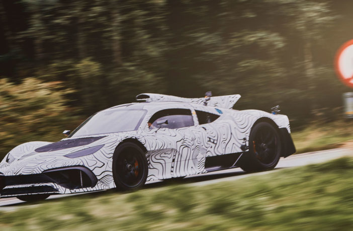 Mercedes-AMG Project One undergoes prototype testing