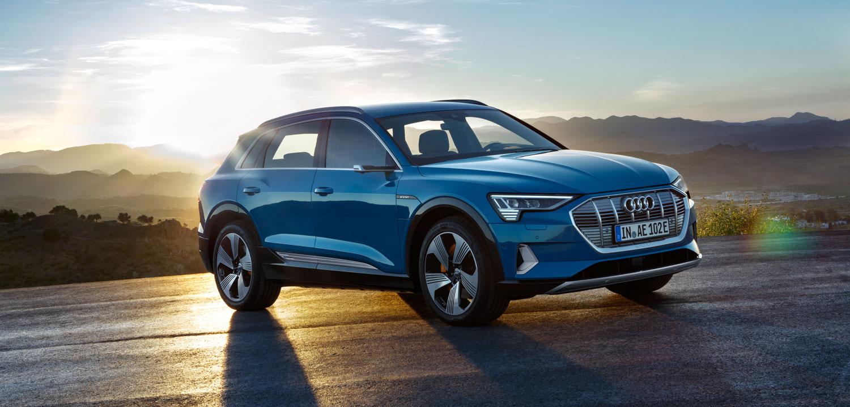 Audi Etron Debuts In San Francisco Electric Hybrid Vehicle - Audi san francisco