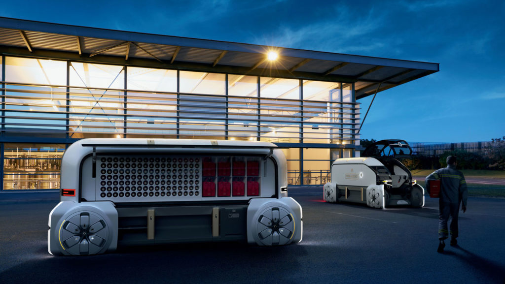 Renault launches energy stationary storage system