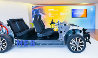 Volkswagen debuts new electrification vehicle architecture