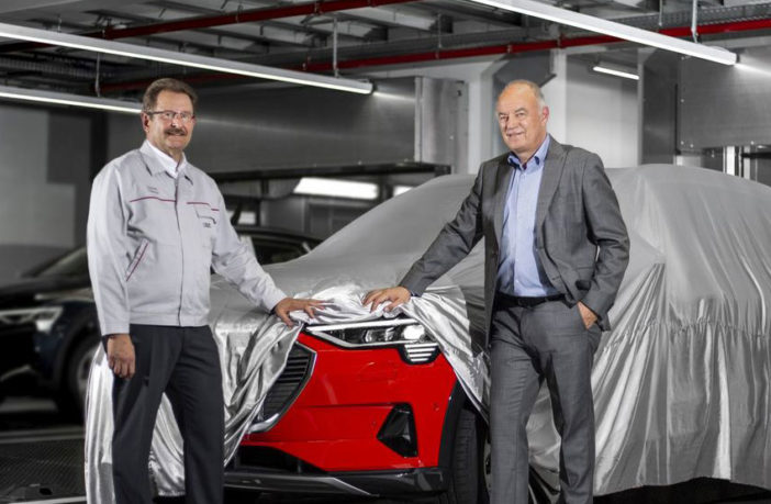 Production of Audi's e-tron begins in Brussels