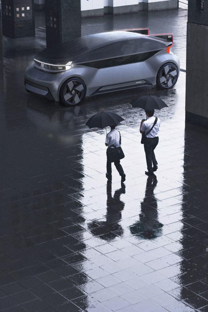 Volvo reveals 360c autonomous electric concept vehicle