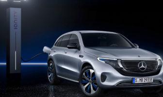 Mercedes-Benz EQC unveiled