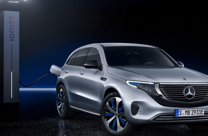 Mercedes-Benz EQC unveiled