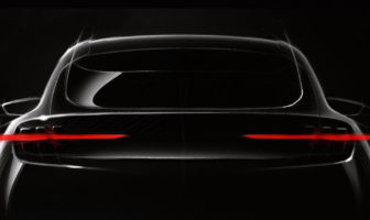 Ford offers teaser of Mustang-inspired EV