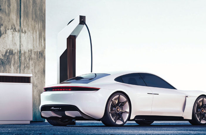 Porsche Engineering reveals charging station technology