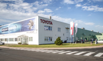 Toyota begins production of hybrid electric transaxles in Europe