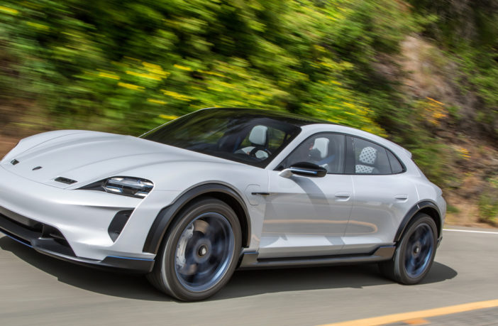 Porsche Mission E Cross Turismo approved for series production