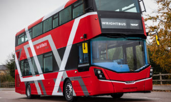 Wrightbus debuts world's first fuel-cell double-deck bus