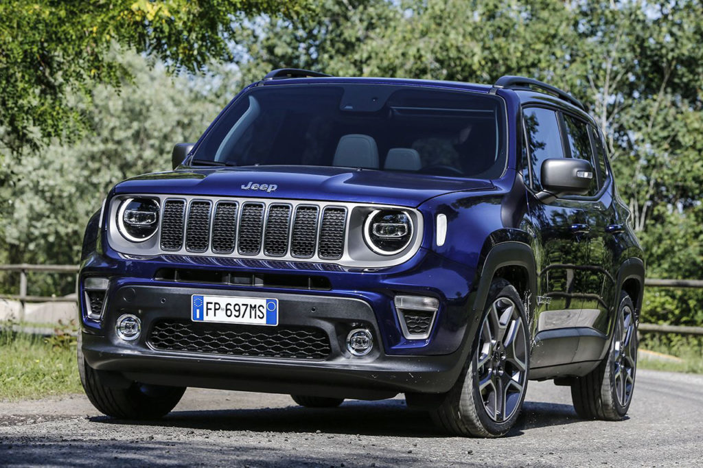 FCA plant undergoing preparation for plug-in hybrid Renegade