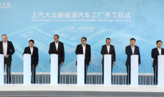 Volkswagen Group China builds first factory specifically designed for MEB production