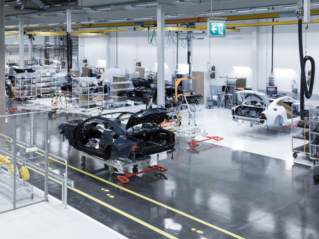 First Polestar 1 prototype vehicles start production