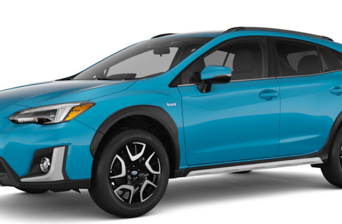 Subaru's first ever plug-in hybrid to arrive at the end of 2018
