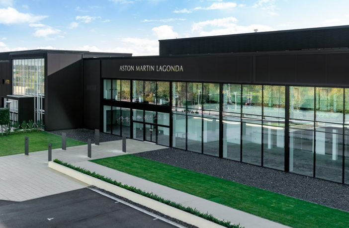 Aston Martin Lagonda facility nearing completion