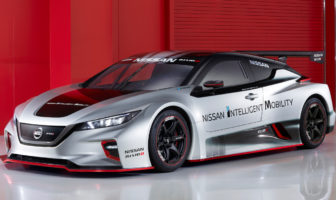 Nissan unveils Leaf Nismo RC electric race car