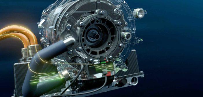 BMW's Racing eDrive01 Formula E drivetrain revealed