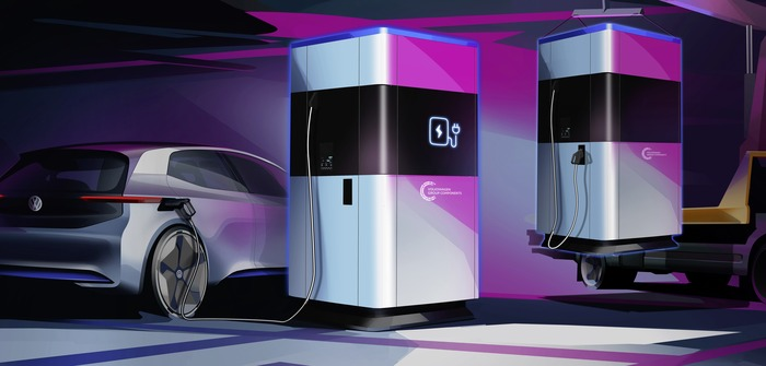Volkswagen to put flexible charging station into series production