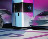 Volkswagen showcases mobile charging station technology