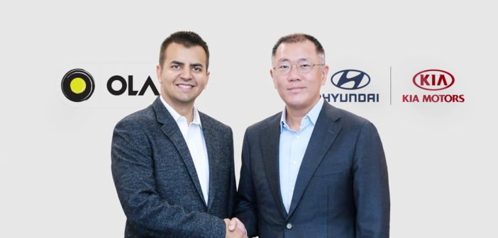 Hyundai and Kia investment in Ola to include vehicle development