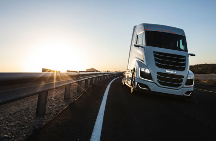 Nikola and Bosch showcase the Two truck